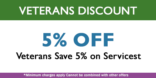 veterans cleaning service special