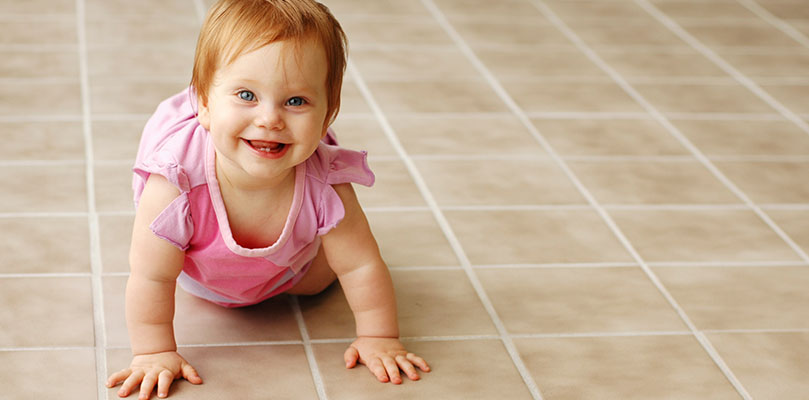 kid safe tile and grout cleaning